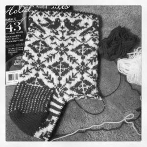 Christmas sock 2