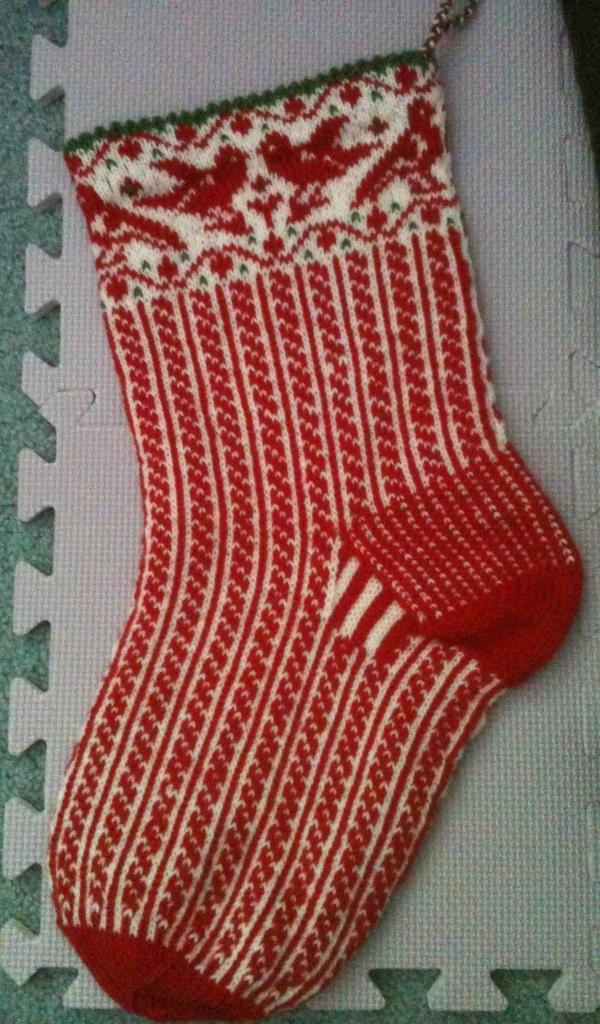 Christmas sock 7