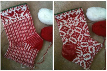 Christmas sock 1