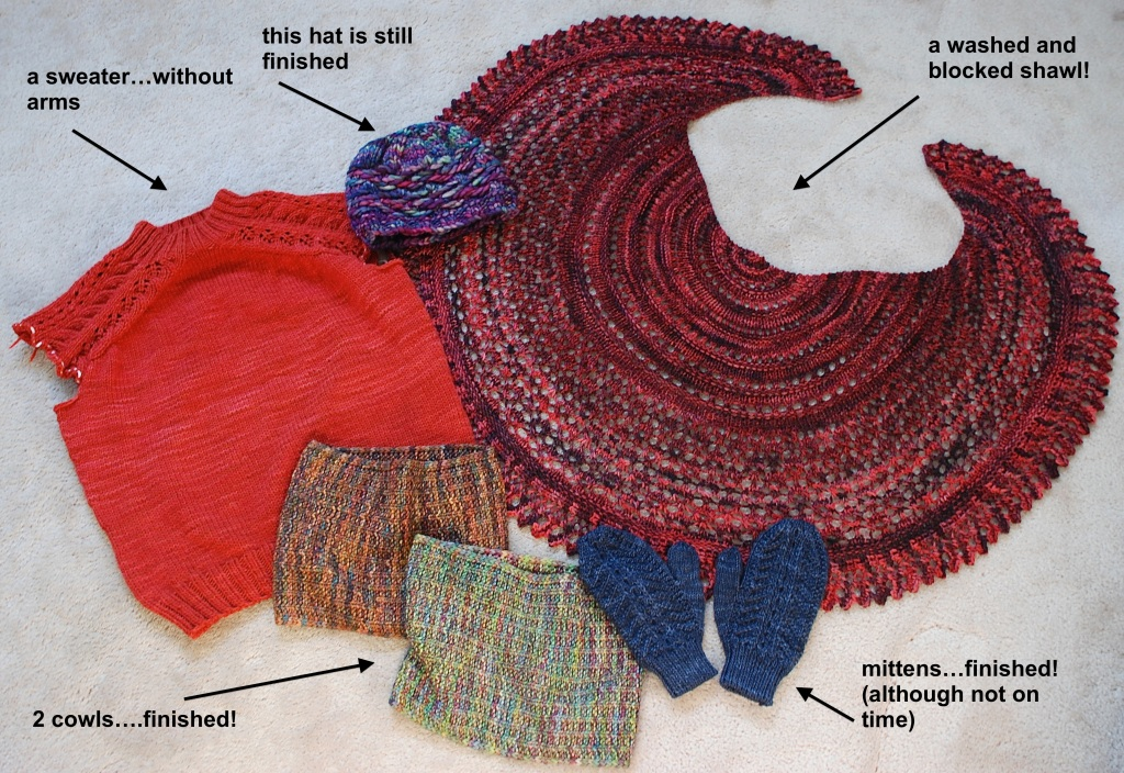 Is it weird if I want to roll around in this pile of knit Malabrigo yarn?